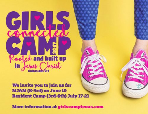 Registrations OPEN; It's not too late for GirlsCamp2017!